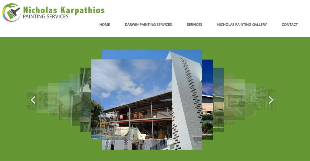 painters website darwin
