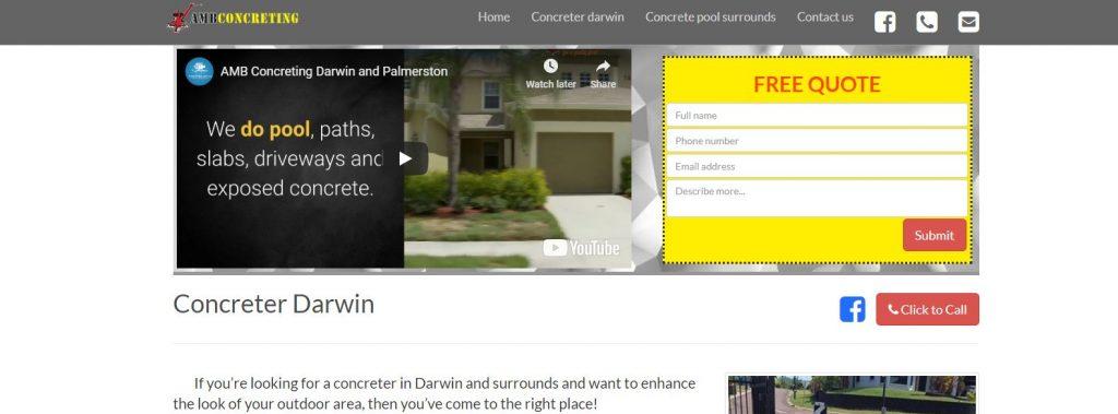 tradies website design basics